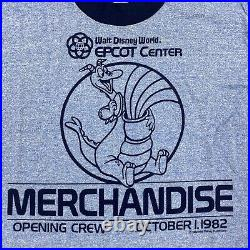 Walt Disney World 1982 Epcot Center Figment Opening Crew Cast Member T-Shirt M