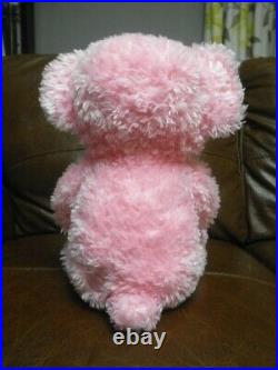 Walt Disney World 2003 Pre Duffy Bear Teddy Plush Pink 17 VERY RARE