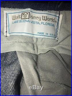 Walt Disney World 20,000 Leagues Under The Sea Uniform Ride Costume Original Euc