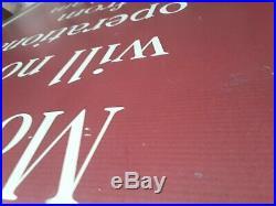 Walt Disney World Authentic Monorail sign Used Park Prop Magic Kingdom