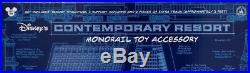Walt Disney World CONTEMPORARY Resort Theme Park Monorail Accessory Play Set Toy