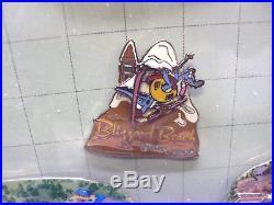 Walt Disney World Cast Atlas Cast Member Mounted And Framed Pin Set 2001