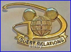 Walt Disney World Cast Member Guest Relations Badge/Pin