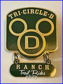 Walt Disney World Cast Member Tr-Circle D Recognition Pin
