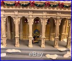 Walt Disney World Christmas Main Street Light Up Village City Hall