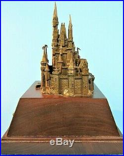 Walt Disney World Cinderella Castle Bronze Replica Disney 15 Year Service Award