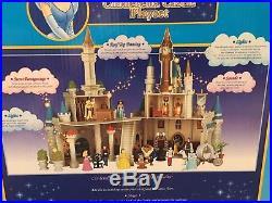 Walt Disney World Cinderella Castle Playset Exclusive Rare Princess House Lights