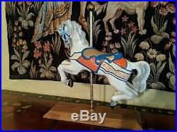 Walt Disney World Cinderella Golden Carousel Horse Rare Hand Painted 1990