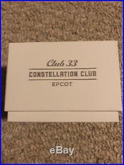 Walt Disney World Club 33 Epcot Constellation Club Magicband