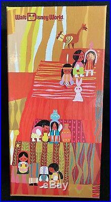 Walt Disney World Contemporary Resort MARY BLAIR Tiles Vase KEVIN & JODY MIB