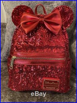 Walt Disney World Disney Red Loungefly Mini Backpack BNWT