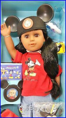 Walt Disney World Disneyland My Disney Girl Doll African American NRFB