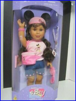 Walt Disney World, Disneyland My Disney Girl Doll Brown Eyes Nrfb