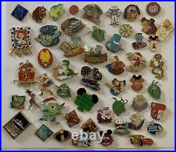 Walt Disney World Disneyland Pin Huge Lot Over 200 Pins- Cast Member Collected