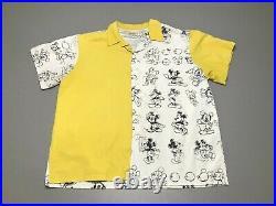 Walt Disney World EPCOT Mickey Mouse Art Drawing Cast Member Shirt Adult Size XL