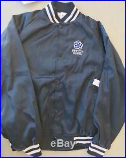 Walt Disney World Epcot Center WDI Cast Imagineering Retro Varsity Jacket Large