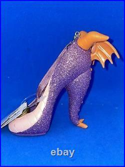Walt Disney World Epcot Rare Figment Shoe Ornament New W Tags