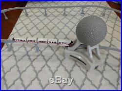 Walt Disney World Epcot Spaceship Earth Monorail Toy Accessory, Tracks- BIG LOT