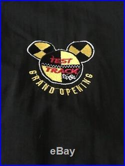 Walt Disney World Epcot Test Track Grand Opening Team Cast Member Jacket XL