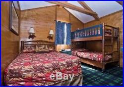 Walt Disney World Fort Wilderness Resort Cabin Guest Room Comforter Bedding Full