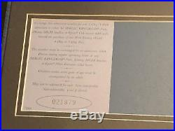 Walt Disney World Framed 25th Anniversary Commemorative Ticket