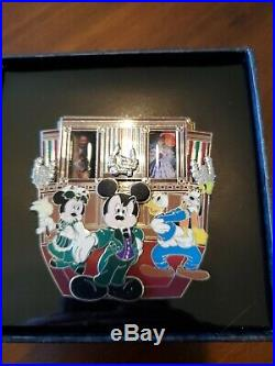 Walt Disney World Haunted Mansion Mickey Portrait Room Fab 4 Jumbo Pin LE 250