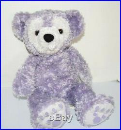 Walt Disney World Hidden Mickey Pre-Duffy Bear 16 Plush Purple WDW