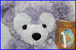 Walt Disney World Hidden Mickey Pre-Duffy Bear 16 Plush Purple WithStorybook