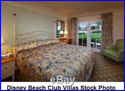 Walt Disney World Hotel BEACH CLUB RESORT KING BEDSPREAD Mickey Pluto Pete AS IS