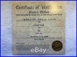 Walt Disney World It All Started With Walt Super Jumbo Pin (LE 500)