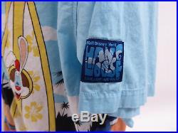 Walt Disney World Jessica Roger Rabbit Hang Loose Mens Button Up Shirt XXL