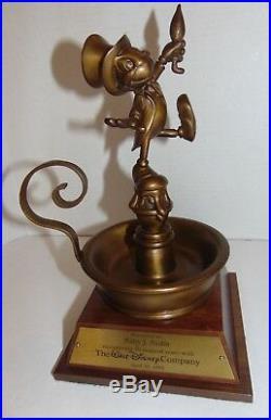 Walt Disney World Jiminy Cricket 30 Years Of Service Statue Award