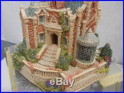 Walt Disney World Lilliput Lane Haunted Mansion Sculpture Signed NIB