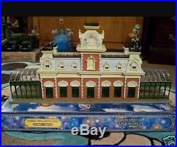 Walt Disney World Main Street Train Station HO Scale, WDW Monorail Play set NIB