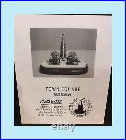 Walt Disney World Main Street USA Town Square Miniature Olszewski 1st Edition