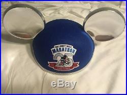 Walt Disney World Marathon 25th Anniversary Blue Mickey Ears