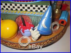 Walt Disney World Mickey Mouse 100 Year Anniversary! BIG Snow Globe RARE