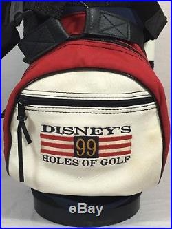 Walt Disney World Mickey Mouse Belding Golf Bag USA RARE 99 Holes Of Golf