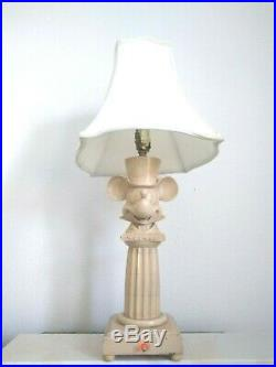 Walt Disney World Mickey Mouse Grand Floridian Table Lamp Prop Collectible Rare