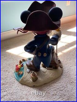 Walt Disney World Mickey Mouse Pirate Statue