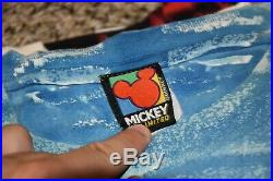 Walt Disney World Mickey Mouse Sea World Marvel Mens VINTAGE T-Shirt LOT of 9