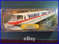 Walt Disney World Monorail 14 Ft of Track, Headlights, & Sound -New, Orig. Box