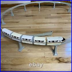 Walt Disney World Monorail Gold Playset Theme Park Edition
