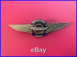 Walt Disney World Monorail Pilot Wings Cast Costume 1980s Pin
