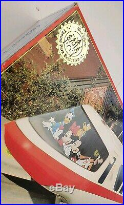 Walt Disney World Monorail Playset RED Line Complete Set With 3 xtra track boxes