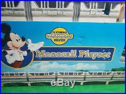 Walt Disney World Monorail Playset Silver In Original Box
