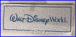 Walt Disney World Monorail Train Track Set Vintage Red Stripe Christmas Playset