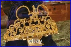 Walt Disney World Park 50th Anniversary Celebration Tiara Crown New Pre-Sale