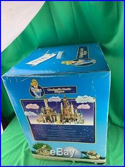Walt Disney World Park Cinderella Castle Playset Retired