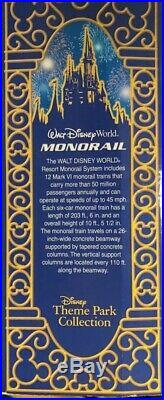 Walt Disney World Park Theme Gold Stripe Monorail Playset with Lights & Sound